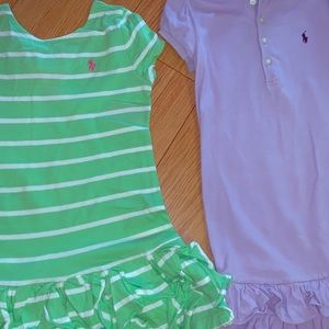 Set of two Ralph Lauren dresses sz 4T